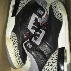 Beater black cement 3s from 2011